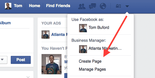 Create facebook page to start facebook ads for contractors