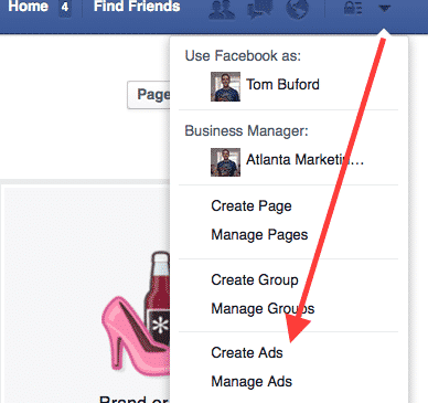 Create facebook ads for contractors