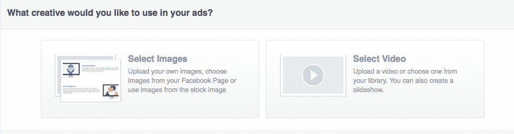Selecting images for your facebook ads for contractors