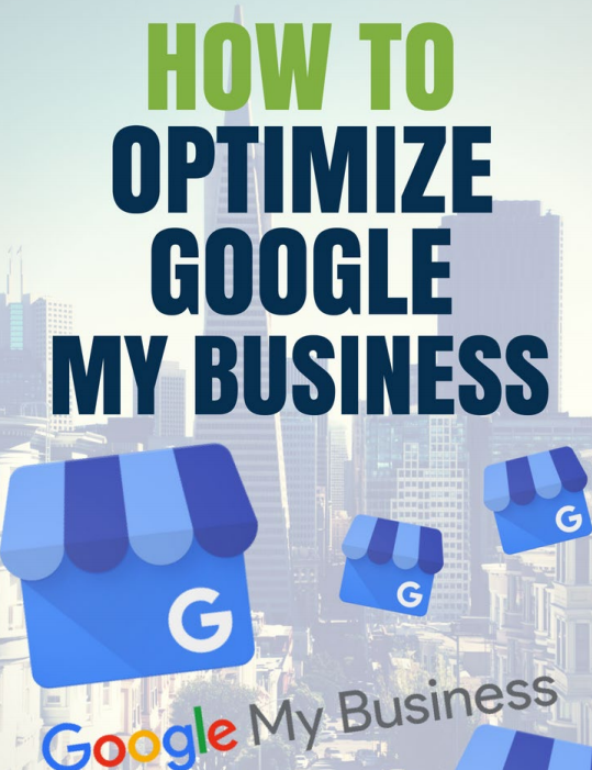 GMB Optimization ebook cover